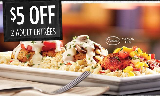 Ruby Tuesday $5 off coupon