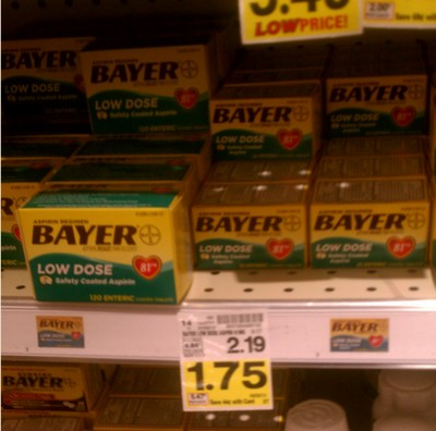 bayer FREE Bayer Aspirin at Kroger!