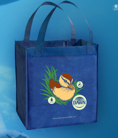 dawn bag FREE Dawn Saves Wildlife Reusable Shopping Bag!