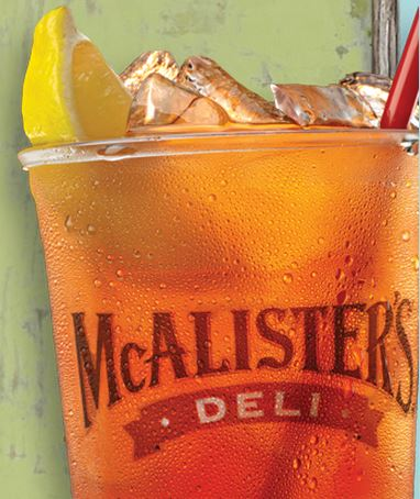 Free Tea at McAlister's Deli + Enter to Win a $100 Gift Card