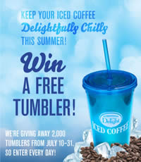 international delight tumbler WIN a FREE International Delight Tumbler!