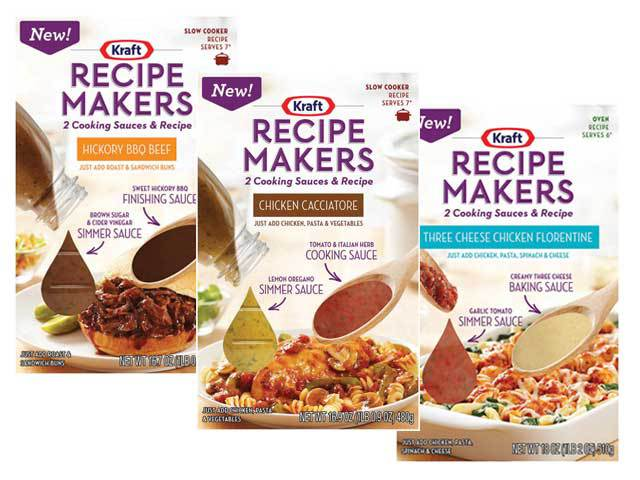 kraft recipes FREE Kraft Recipe Makers at Target!