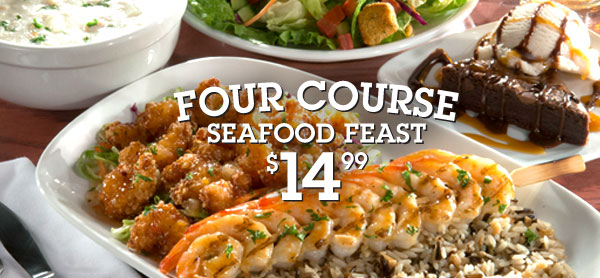 Four Course Meal at Red Lobster for Only $14.99!