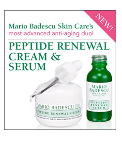 serum Free Mario Badescu Peptide Renewal Serum and Renewal Cream Sample