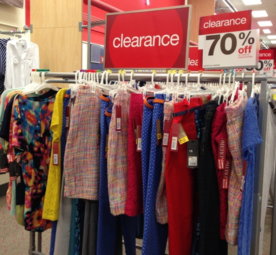 sale clothing clearance