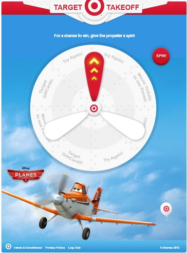 Target Takeoff instant win game