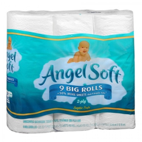angel soft Angel Soft 9 rolls only $2.45 ea at Walgreens!