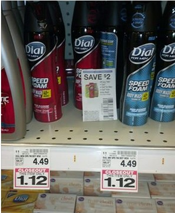 dialspeed Dial Speed Foam Body Wash As Low As $.12 at Kroger!
