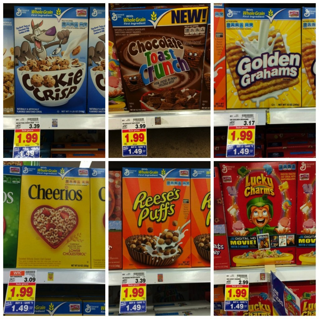 general mills 1024x1024 General Mills Cereal only $0.49 per box at Kroger!!