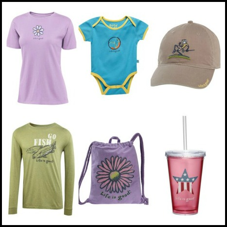 life is good collage Zulily: Life is Good Apparel & Accessories up to 50% off!
