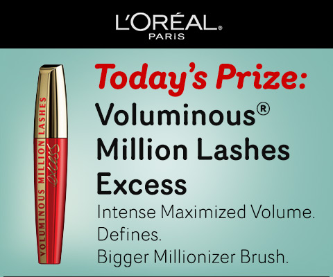 loreallash L'Oreal Paris 31 Days of Beauty Sweepstakes (Win a FREE Product Every Day!)