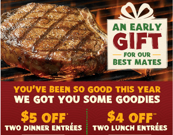 outback coupon