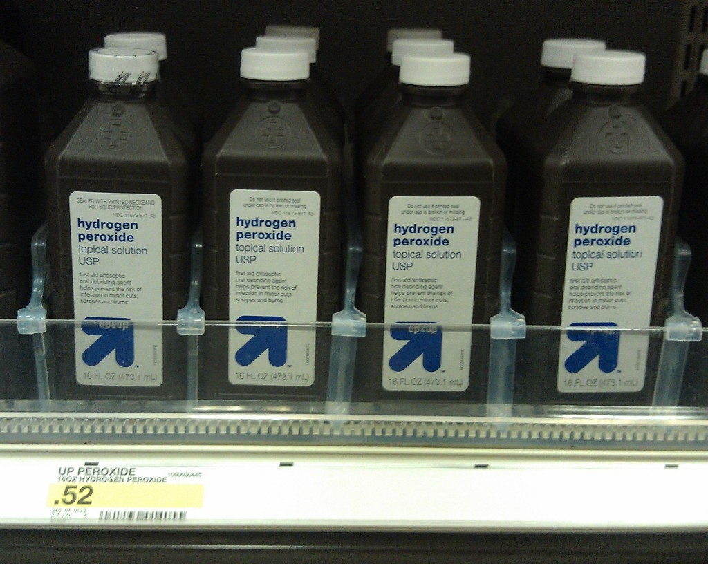 peroxide 1024x816 Hydrogen Peroxide Just 2¢ at Target