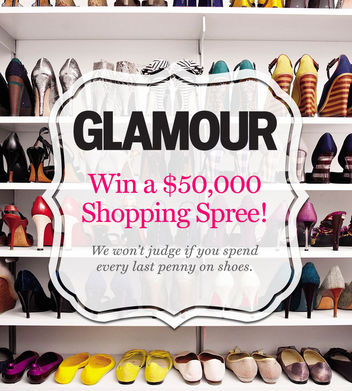 shoppingspree 1 w352 Win a Glamour $50,000 Shopping Spree!