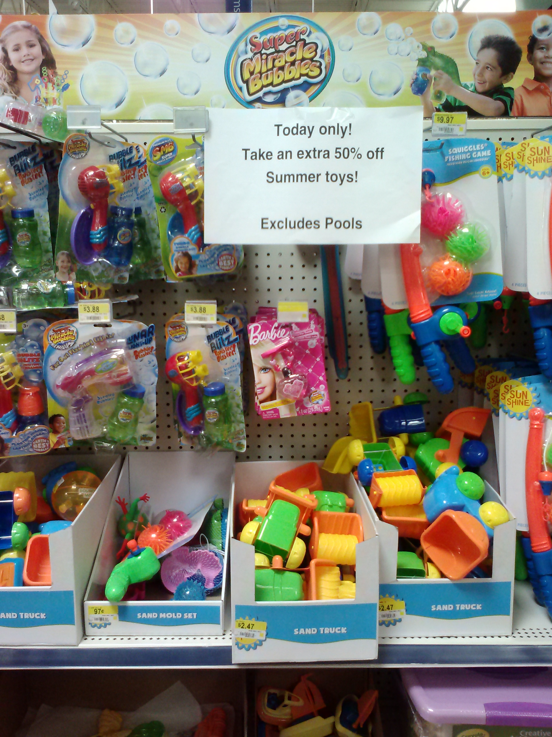 Toys For The Summer : Summer toys off at walmart today only mojosavings