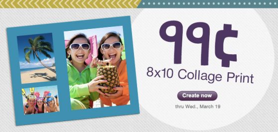walgreens 99¢ 8×10 Collage Print at Walgreens + FREE Store Pick up!