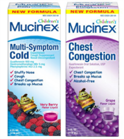 Possible Free Childrens Mucinex