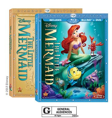 Little Mermaid blu ray combo Little Mermaid Blu ray $7 off Coupon + Walmart Deal
