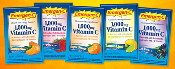 emergen FREE Sample Emergen C!