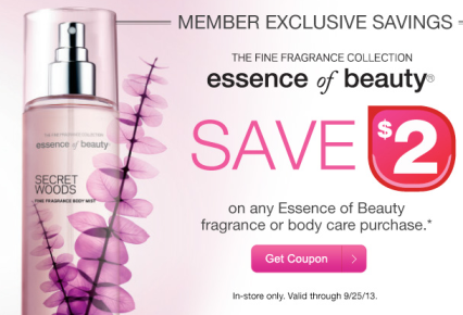 essenceofbeauty FREE Essence of Beauty Fragrance at CVS for Beauty Club Members?!