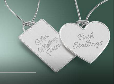 free key chains at Things Remembered FREE Engraved Keychain for Brides at Things Remembered