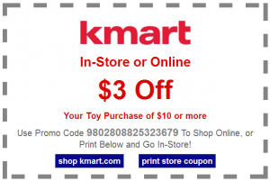 kmart 300x201 Kmart: $3 Off a $10 Toy Purchase Coupon!