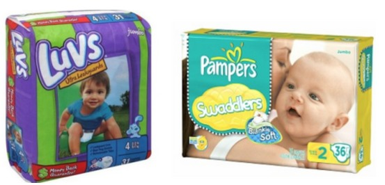 Luvs and Pampers only $3.87 ea at CVS!