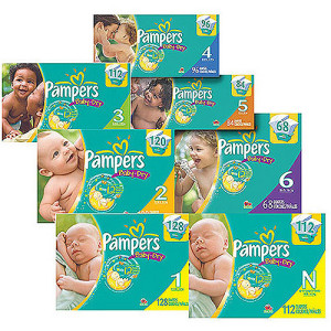 pampers 300x300 Pampers Diapers Only $5.82 at CVS!
