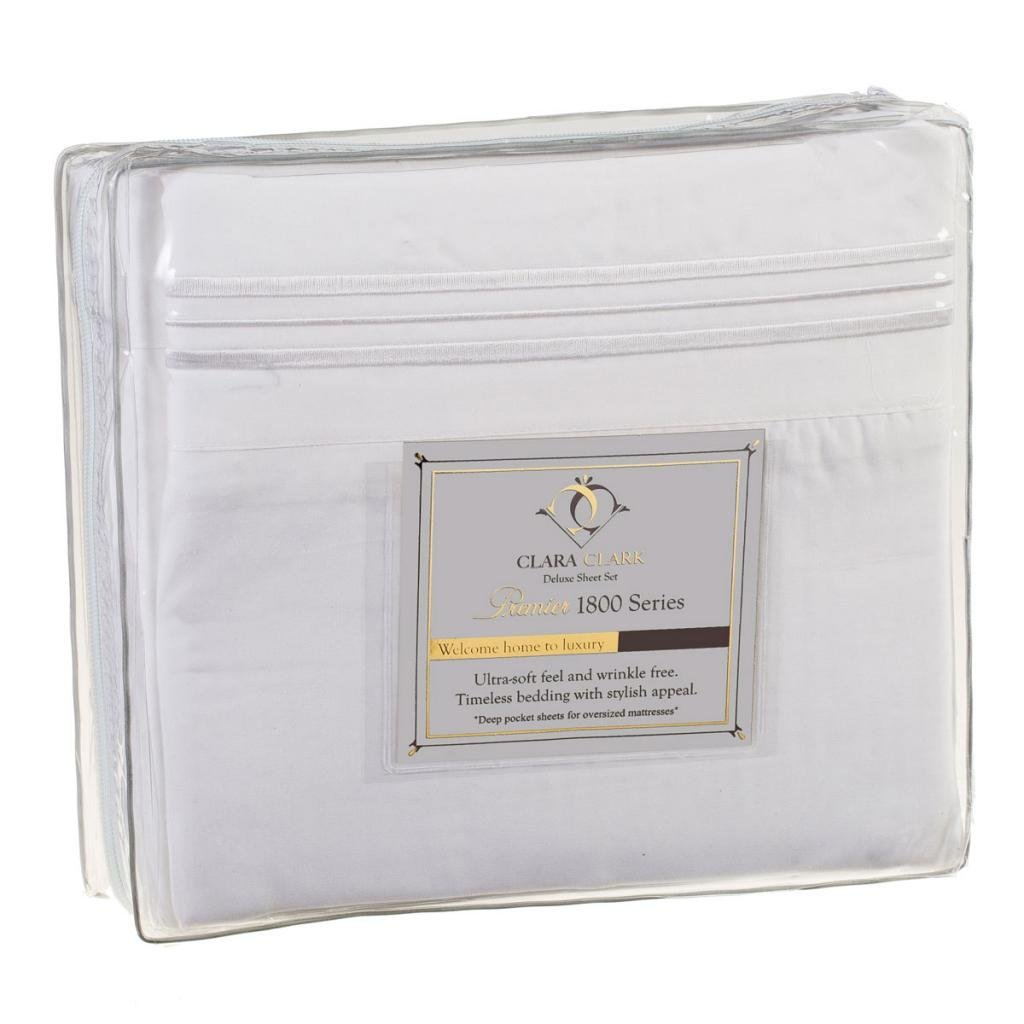 Clara Clark Premier 1800 Collection Bed Sheet Sets as low as