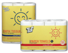 sunnysmile TuF Sunny Smile Paper Towels Only $.37 per Roll at Walgreens!