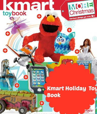 Kmart holiday toy coupon book