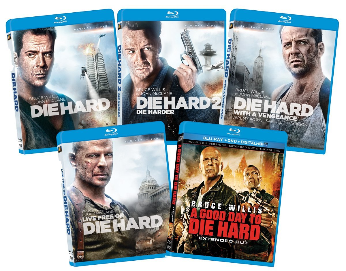 Die Hard Movie Bluray Collection only $3149 shipped (reg