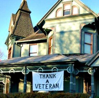 free b&b stay for vets