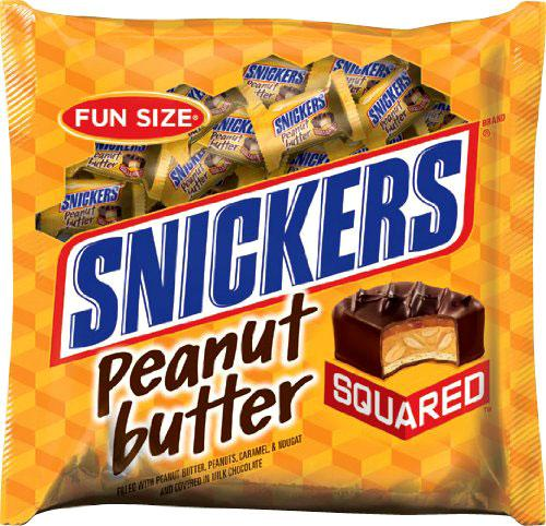 snickers peanut butter squared Snickers Peanut Butter Squared Just $1 a Bag