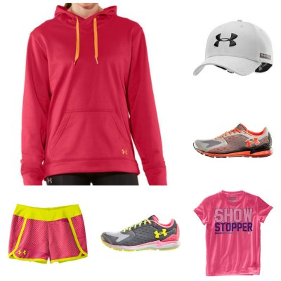 Under armour clothes for women