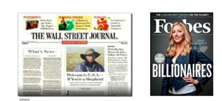 wall street journal and forbes magazine FREE Forbes and Wall Street Journal Subscriptions!