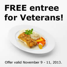 ikea offers free entree for veterans now through november