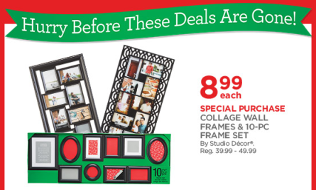 Michaels doorbuster deals Michaels Doorbuster Deals: Collage Wall Frames & Sets Just $8.99 (reg. $39 to $49) + More!