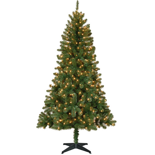 6ft Pre Lit Christmas Tree