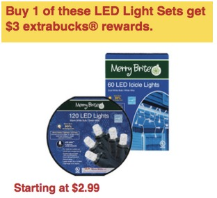 FREE LED Christmas Lights at CVS!