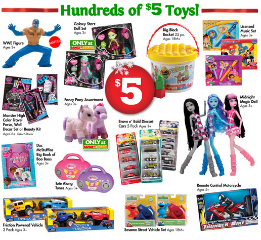 Target Toy Book 2013 : Family dollar toybooks hundreds of toys under