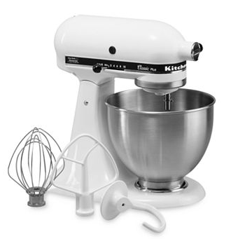 kitchenaidkohls KitchenAid Classic Plus 4.5 qt. Stand Mixer Only $127.24 Shipped (reg $299)