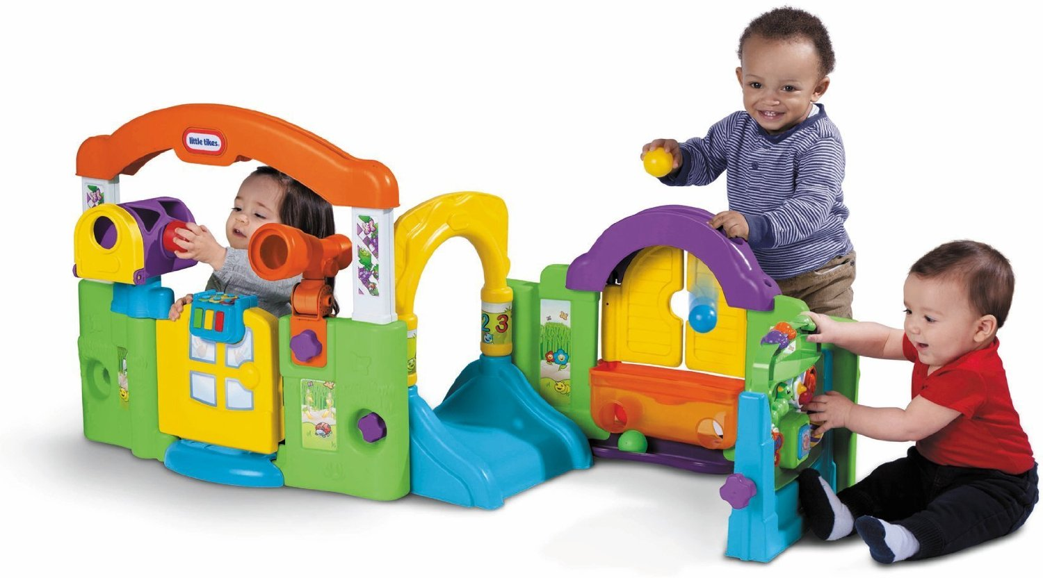 Little tikes activity garden baby playset only for Jouet exterieur 1 an