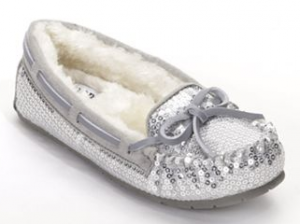 Girls SONOMA life + style Sequined Moccasins Only $10.19 (Reg. $35!)