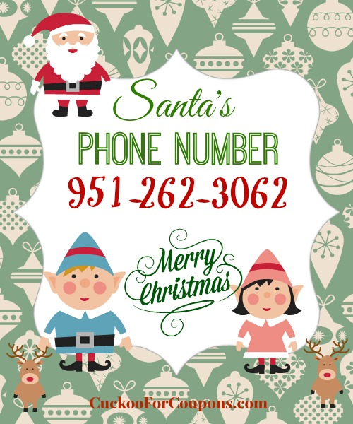 santas phone number FREE Santa Claus Phone Number