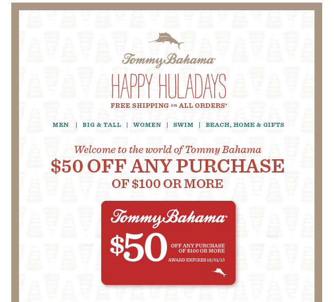Tommy bahama coupons july 2018