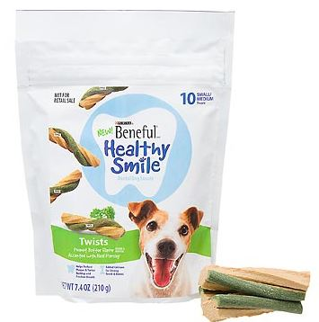 Beneful Healthy Smile treats Free Beneful Healthy Smile Dog Treats Sample!