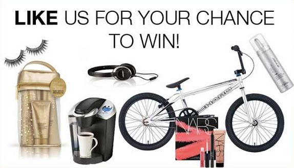Joico prizes FREE Prizes from Joico (Bike, Bose Headphones, Beauty Products and More)
