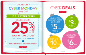 carters 300x193 Carters Cyber Monday Part Two Sale   Prices Start at $5 + an extra 25% off!