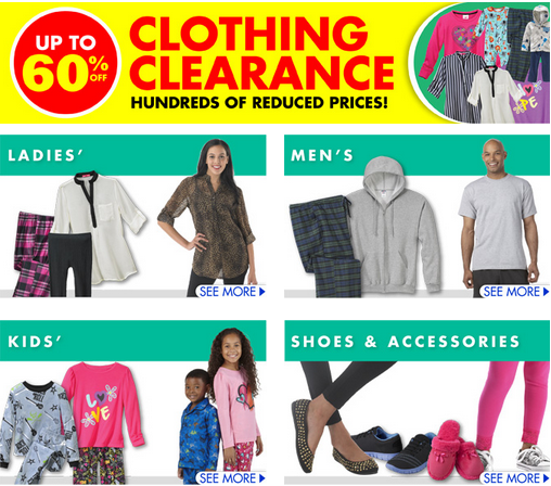 clothingclearance Family Dollar: Clothing Clearance Up to 60% Off!